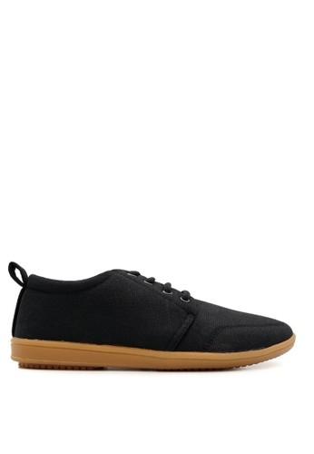 CDE black SkaterX Men Skater Shoes Black-Gum Sole 66D51SH4E11069GS_1