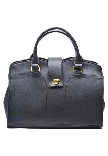 House of Bai black Yna Top Handle Bag A HO716AC0K2TIPH_1