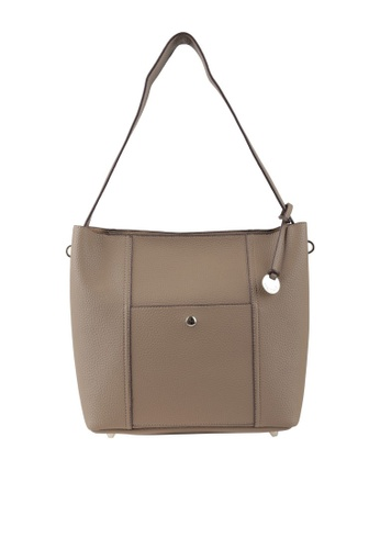 Obermain brown Obermain Berry Shoulder - Taupe 6605BAC841A19CGS 1 27b32e4aed