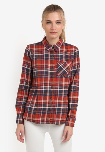 Patagonia multi Heywood Flannel Shirt PA549AA0RQEHMY_1