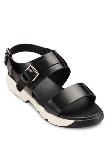 基本款尖頭厚底涼鞋, 女esprit au鞋, 鞋