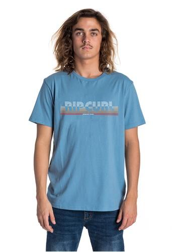 Rip Curl blue Hey Mama Short Sleeve Tee AB2E2AA867E92EGS_1