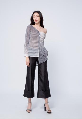 iROO multi Asymmetrical Shirt EEECAAA53576A7GS_1