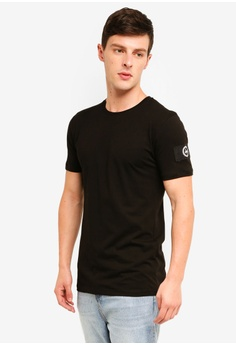 df1ac3e30a Just Hype black Insignia T-Shirt CAD50AA2CC9EF3GS 1