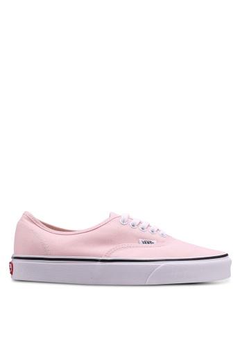 VANS pink Authentic Sneakers VA142SH0SWTFMY_1