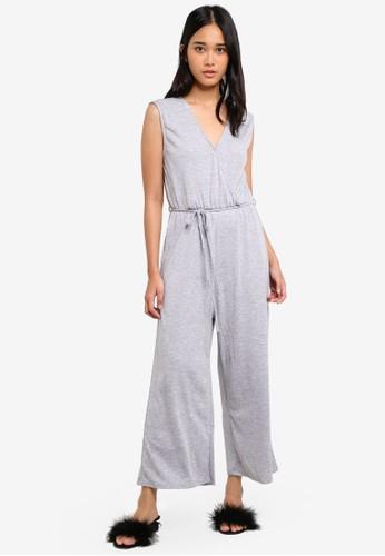 Cotton On grey Jersey Joss Culotte Jumpsuit F4CA6AA8340CBDGS_1