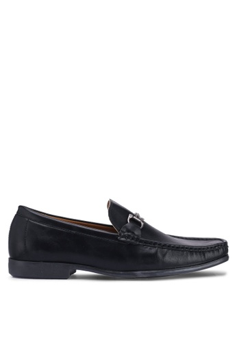 Carlton London black Slip On Loafers 3B18BSH4D72482GS_1