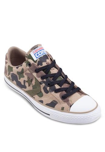 Cons Star 迷彩布鞋, 鞋, esprit台灣門市鞋