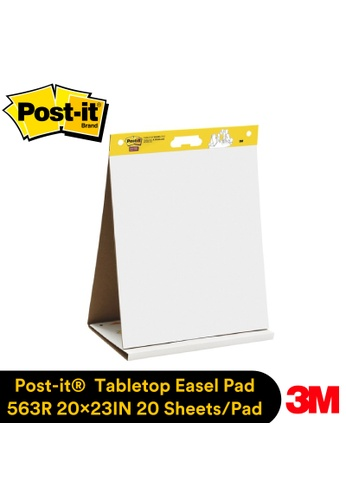 Post-IT 3M Post It Easel Pad Tabletop (20 inch  X 23 inch ) 20 Sheet/Pad [563R] 8914DHL462CC21GS_1