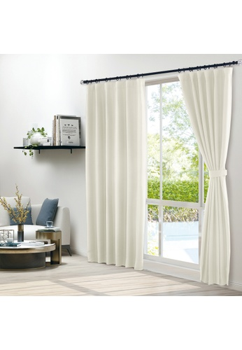 Epitex white Epitex Clasica CLA301-1 Ready Made Curtain (Ivory) F0587HL43D530AGS_1