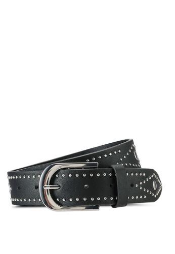 Rubi black Fashion Studded Belt C8F22AC2EEEC22GS_1