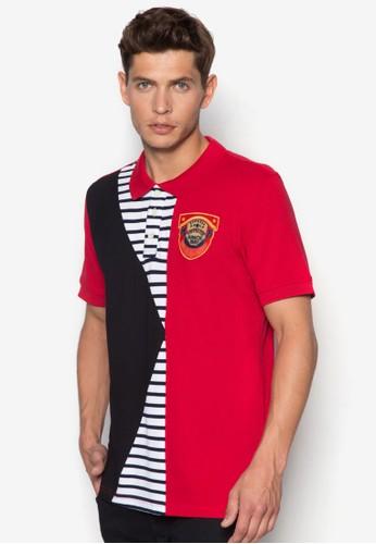 拼接設計POLO衫,esprit品牌介绍 服飾, Polo衫