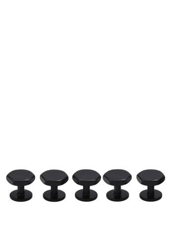 六esprit 京站角形鈕扣組合, 飾品配件, 飾品配件