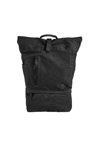Timberland black Roll Top Backpack 28043AC342C90DGS_1