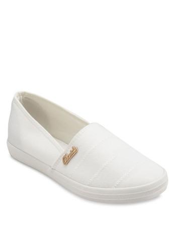 棉質懶人休閒布鞋esprit台灣, 女鞋, 鞋