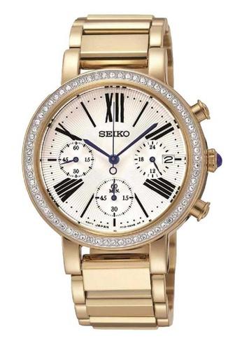 Seiko gold Seiko Gold Stainless Steel Watch 37369AC706D7DBGS_1