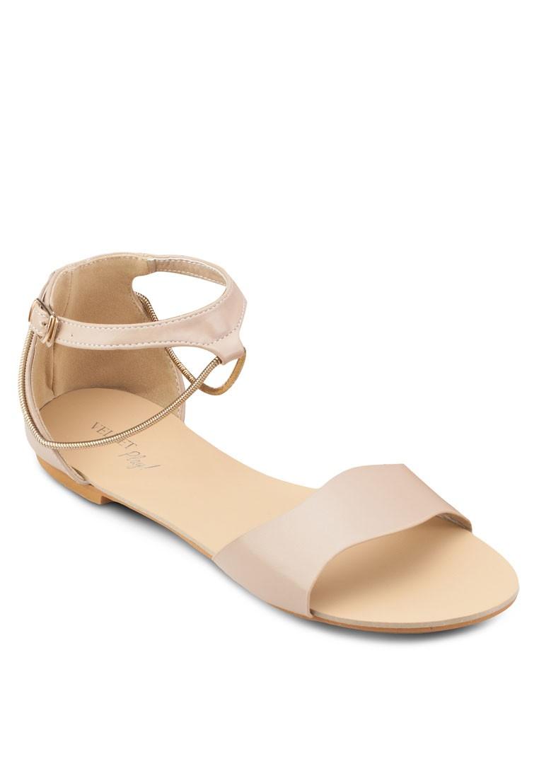 Play Delphine Wavy Sandals
