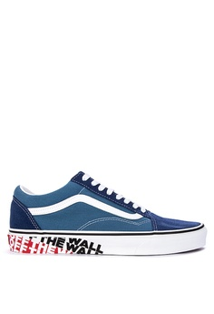 d00a5a0fcb6 VANS blue OTW Sidewall Old Skool Sneakers 4B9DASHED87397GS 1