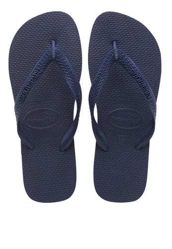 Havaianas navy TOP Sandals & Flip Flops A5AB8SHD7E786EGS_1