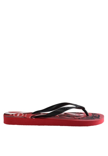 Havaianas black and red Top Conceitos 17 Sandals & Flip Flops ED05DSH30F9FB6GS_1
