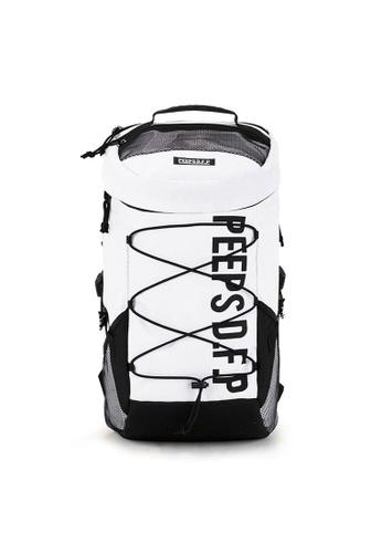 Peeps white Titan Backpack 3AE74ACBF45D03GS_1