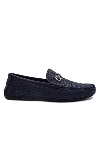 Goldlion blue Goldlion Premium Loafer Shoes in Blue (HSH212TG92B-50) 45F30SH5C28BBDGS_1