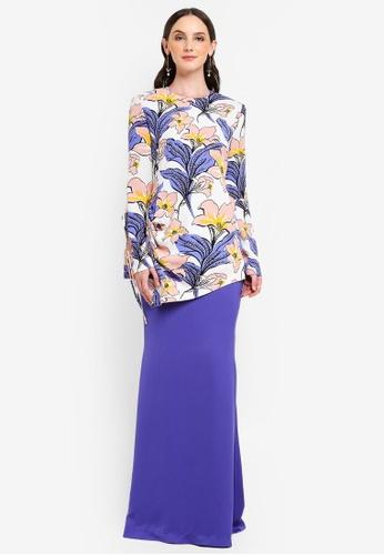 Jovian Mandagie for Zalora purple Pelekila Set Modern Baju Kurung 742BEAAB66354EGS_1