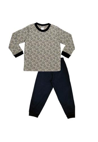 Disney Baby grey Disney Baby Boy Round Neck Pyjamas 62450KA9865CCDGS_1