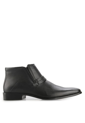 Andretelli black Cesare Boots AN907SH34NNTID_1