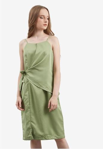 Berrybenka green Eldoria Dress 9744BAA703C6CDGS_1