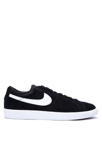 Nike black Men's Nike Blazer Low Shoes NI126SH0KPQIPH_1