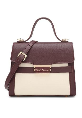 Wild Channel red Women's Hand Bag / Top Handle Bag / Shoulder Bag 9D770AC5CCD92CGS_1