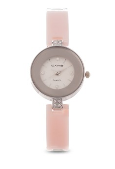 Stainless and Plastic Analog Watch SL013W