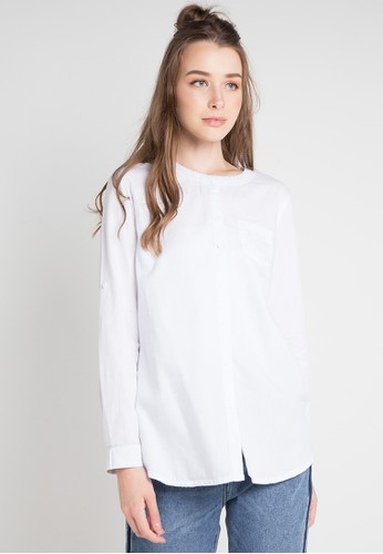 Cressida Ladies white Destiny Simple Shirt B83C9AA6453239GS_1