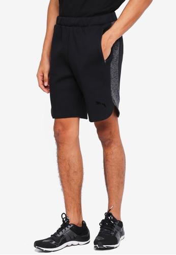 Puma black Sportstyle Core Evostripe Shorts 25BA7AAD18641FGS_1