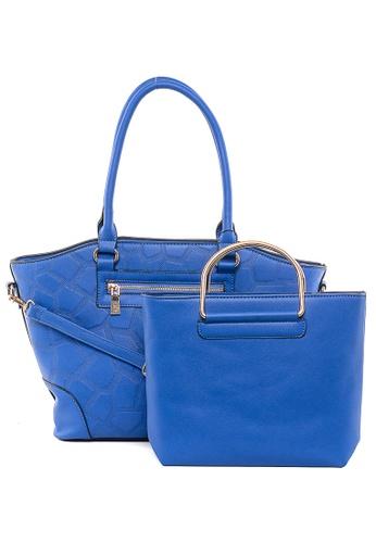 House of Bai blue Ella Europe Top Handle Bag HO716AC64CQXPH_1
