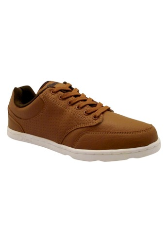 FANS brown Fans Prima T - Casual Shoes Tan Olive FA469SH41MTYID_1