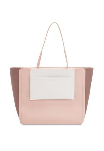 Vincci pink Tote Bag 3724CAC5D3EBF1GS_1