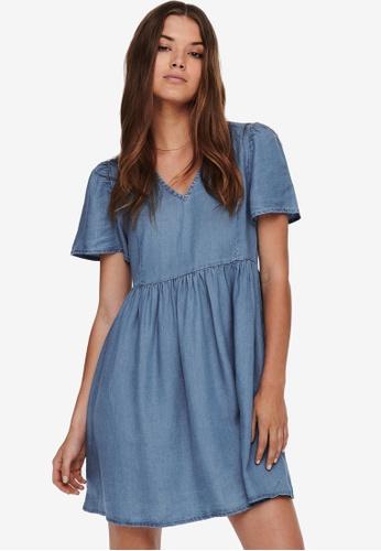 ONLY blue Vera Dress 5D7F6AA14F99FFGS_1