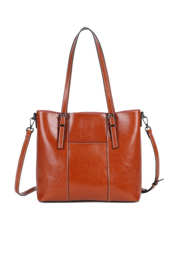 Twenty Eight Shoes Vintage Cow Leather Hand Bags YLG55802 8A2D4AC2410728GS_1