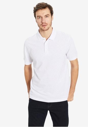 LC Waikiki white Standard Short Sleeve Polo Shirt DA604AA01B41A7GS_1