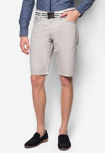 腰esprit tst帶休閒短褲, 服飾, 短褲