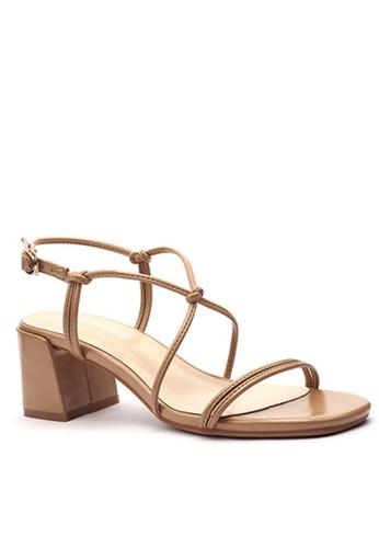 Twenty Eight Shoes 交叉綁帶涼鞋1800-6 2690DSH900E9E8GS_1