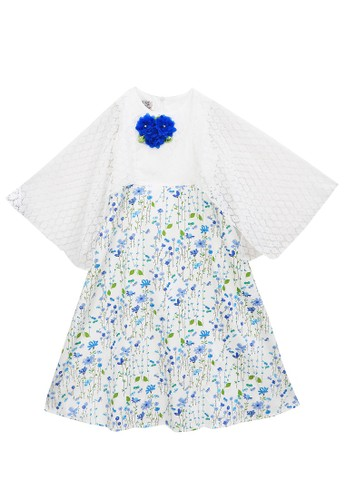 FIYORA blue Nadhira Party Girl Dress Moslem 484C1KA533F64FGS_1