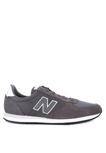 New Balance black U220 Lifestyle Sneakers F6F7CSH8A1E57CGS_1