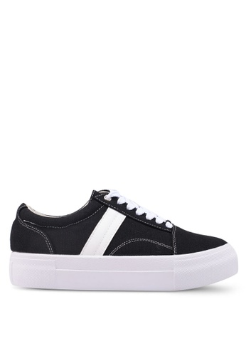 Something Borrowed black Casual Sneakers 8E6AESHFA799BAGS_1