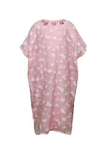 Cute pink Baju Muslim F7830KAF73BE4DGS_1