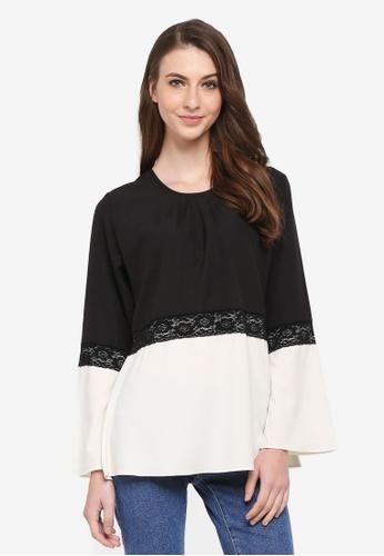 Aqeela Muslimah Wear white Qhalisha Lace Top B805DAA7E7BCFCGS_1