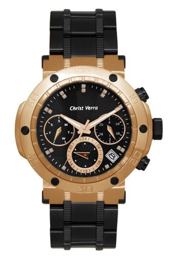 Christ Verra black Christ Verra Women's Watches CV 52283LD-18 BLK E365CAC8D85025GS_1