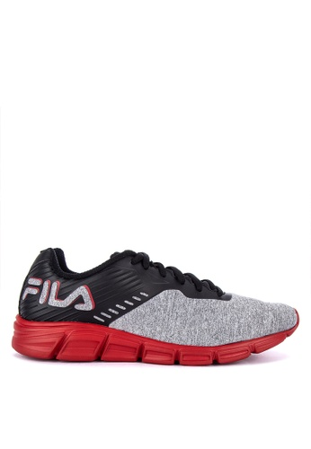 Fila black and multi Primeforcer Ms Running Shoes 82CA5SHD7CCE0EGS_1